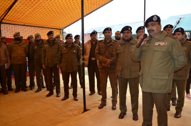 DGP visits south Kashmir, reviews security situation