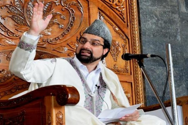 Mirwaiz welcomes Trump's effort to push India and Pakistan for dialogue on Kashmir