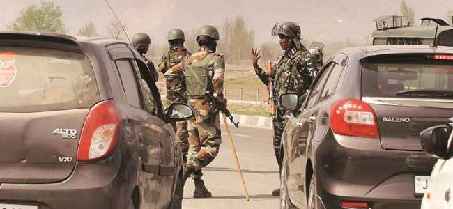 Grenade attack on NC leader's residence in Pulwama