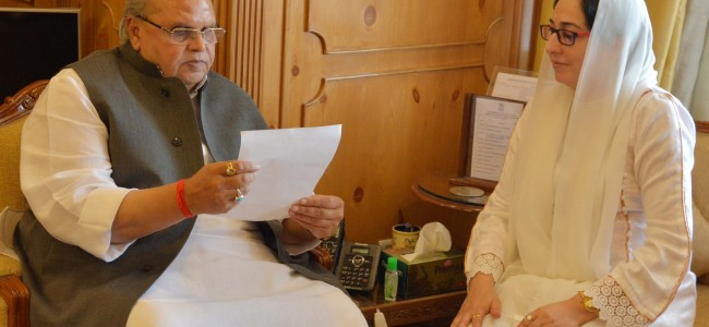 Governor reviews security situation in Kashmir
