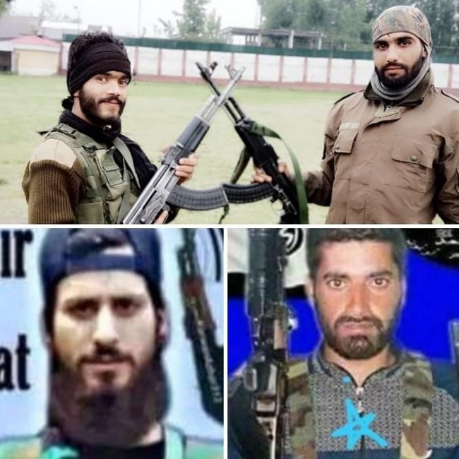 Barely 24 Hours After Joining Militancy, Two SPO's Among Four Militants Killed In Pulwama