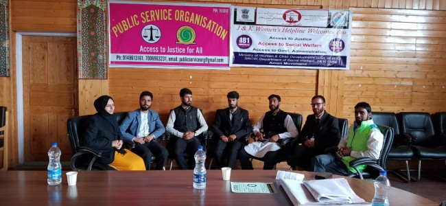 PSO Organises a day long Round Table Conference at Sumbal Sonawari