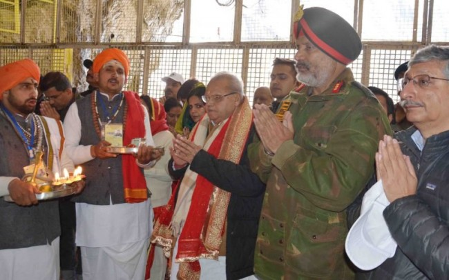 Govt in process of formulating policy for rehabilitation of Kashmiri Pandits: Governor Malik