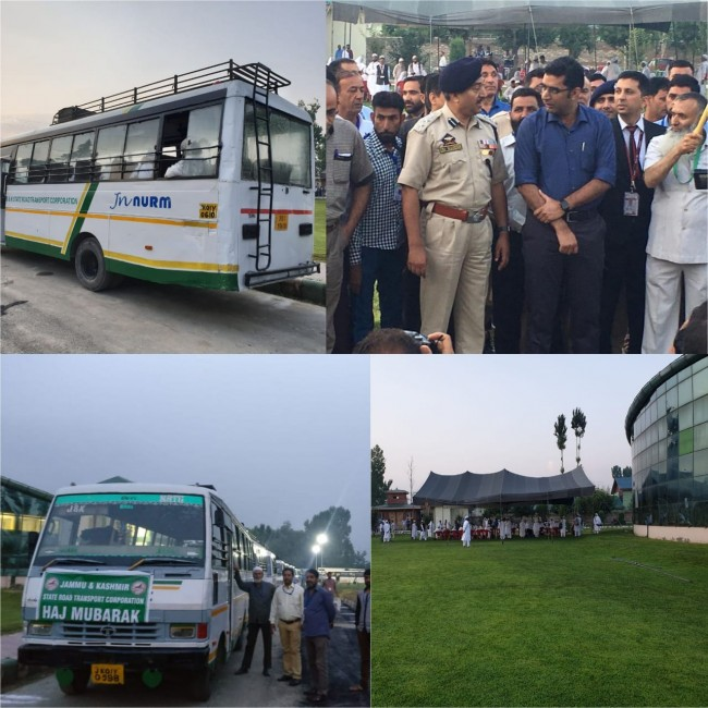 First batch of Hajj pilgrims from Jammu and Kashmir leaves for Saudi Arabia