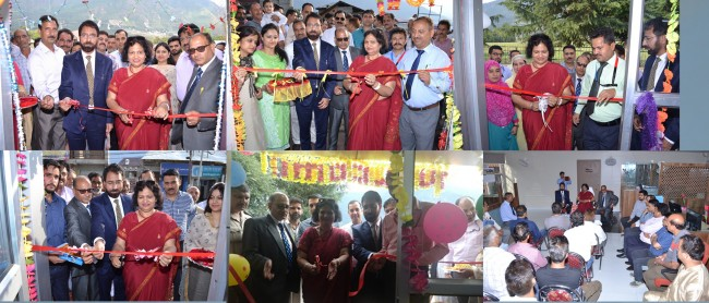 J&K Bank commissions 6 ATMs at Kishtwar, inaugurates new premises of TP Kishtwar Business Unit