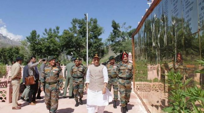 Securities forces have restricted Pakistan's acts to borders only: Rajnath Singh