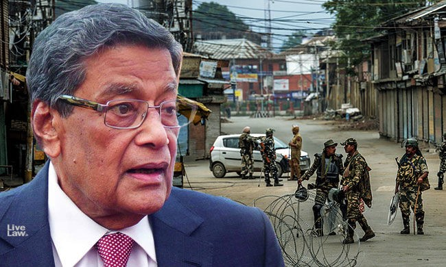 Restrictions In Kashmir Are Necessary To Prevent Terrorism : Attorney General