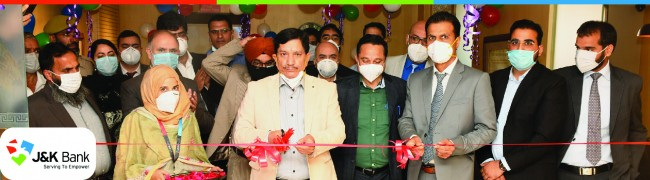 J&K Bank CMD inaugurates new corporate premises of JKB Financial Services Launches several products, services and company website