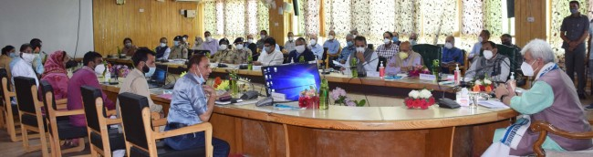 Lt Governor tours Pulwama  Govt committed to adding value to lives of people of J&K: Sinha