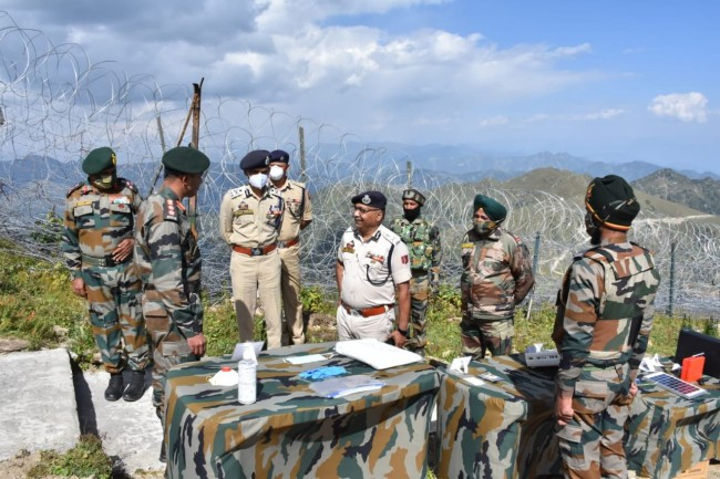 Strict Security Measures on LOC and IB Imperative for Peace : DGP J&K