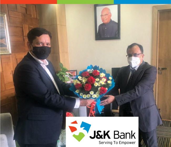 CGM NABARD calls upon JK Bank CMD
