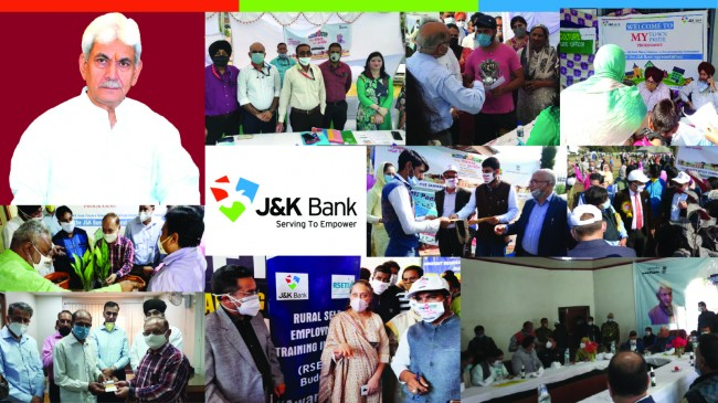 J&K Bank's role lauded during 'My Town, My Pride' Program