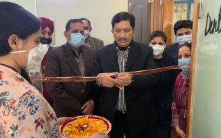 J&K Bank Chairman & MD inaugurates and lauds the team of The Dental Hub- Discover Dentistry initiative at Trikuta Nagar Jammu