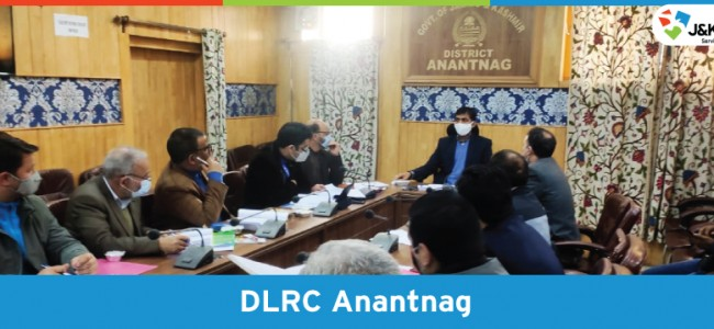 J&K Bank conducts Anantnag DLRC meet